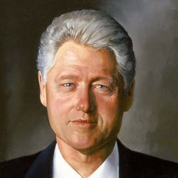 Bill Clinton Painting